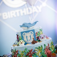 Birthday Cake - Sea Theme