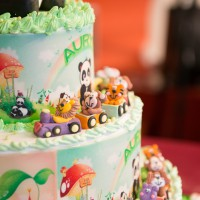 Birthday Cake - Zoo Theme