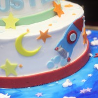 Birthday Cake - Space Theme