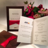 AXIS - Opening Invitation Card